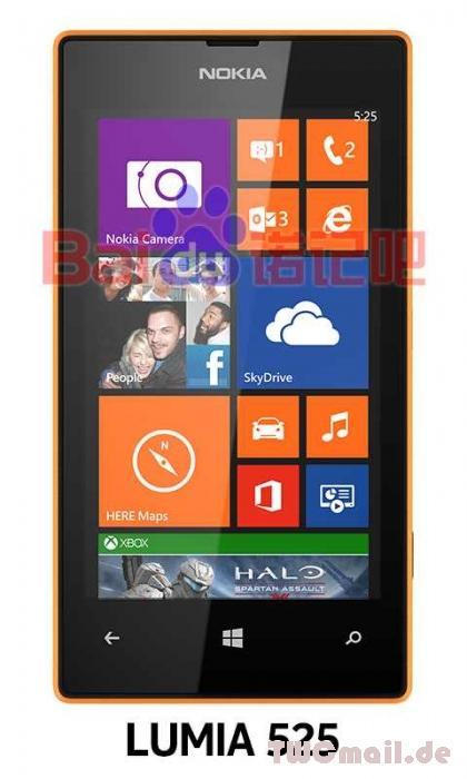 Nokia Lumia 525 Orange
