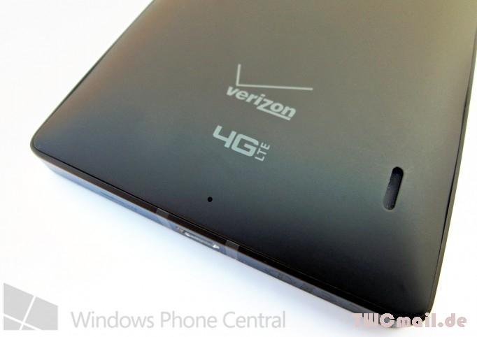 Verizon Lumia 929 rear bottom cleaned