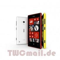 nokia lumia 720 red white yellow