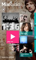 Nokia MixRadio Home