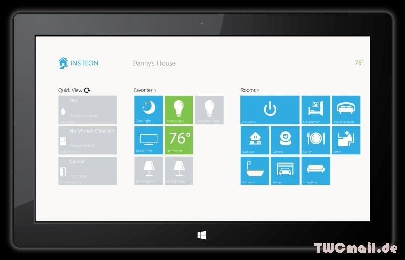 Insteon App für Windows