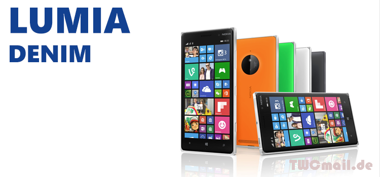 Roll-Out des lumia denim update