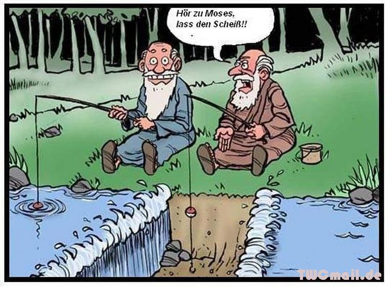 Bild Ansehen Moses Beim Angeln