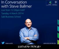 Steve Ballmer in Oxford