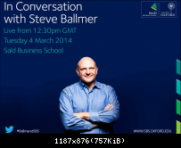 Steve Ballmer in Oxford