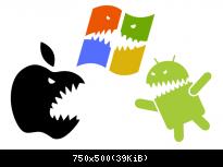 Apple vs Windows vs Android