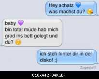 Chat-Fail: Was machst du?