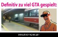 Definitiv zu viel GTA gespielt!