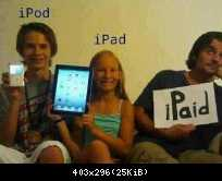 iFamily: iPod - iPad - iPaid
