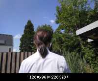 Pferdeschwanz Low Ponytail 7